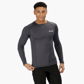 Regatta Men's Beckley Base Layer Set - Seal Grey