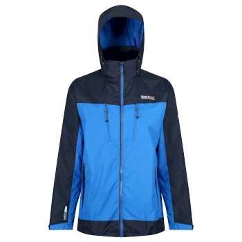 Regatta Calderdale II Waterproof Shell Jacket Oxford Blue Navy