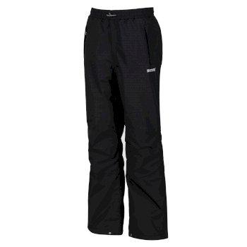Regatta Chandler III Breathable Waterproof Overtrousers Black