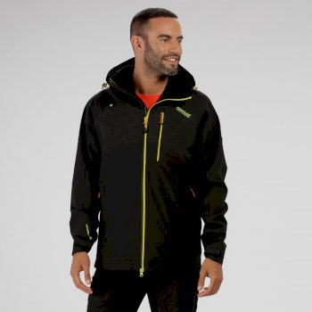 Regatta Oklahoma III Reflective Waterproof Jacket Black