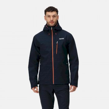 Regatta Men's Birchdale Waterproof Jacket Navy
