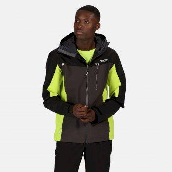 Regatta Men's Birchdale Waterproof Hooded Walking Jacket - Ash Black