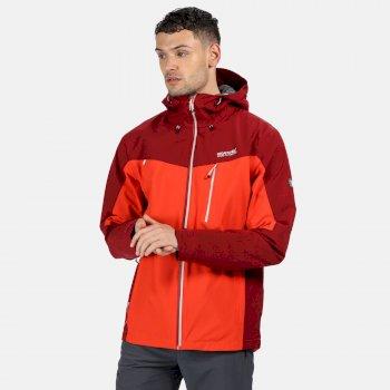 Regatta Men's Birchdale Waterproof Jacket - Burnt Salmon Delhi Red