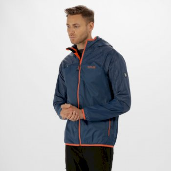 Regatta Levin II Reflective Waterproof Jacket Dark Denim