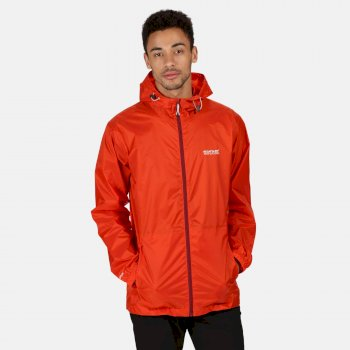 Pack-It III - Herren Jacke - wasserdicht - verstaubar Orange