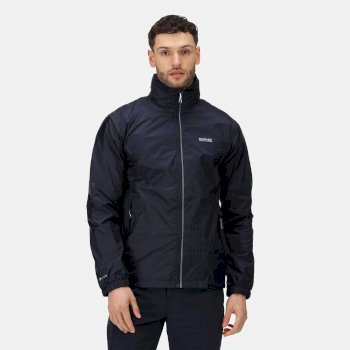Regatta Men's Lyle IV Lightweight Waterproof Packaway Walking Jacket - Navy