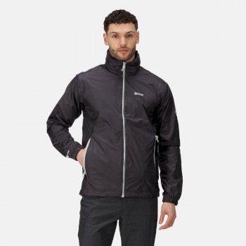 Men's Lyle IV Lightweight Waterproof Jacket with Concealed Hood Iron