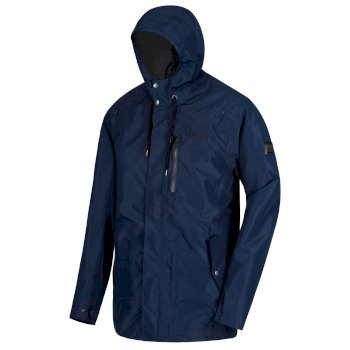 Regatta Boman Waterproof Shell Jacket Navy