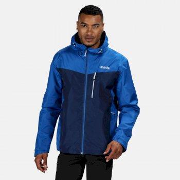 Regatta Men's Holtridge Waterproof Shell Jacket - Oxford Blue Prussian