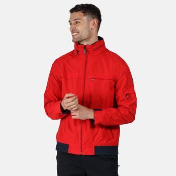 Regatta Men's Montel Waterproof Jacket - True Red
