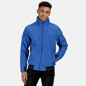 Regatta Men's Montel Waterproof Bomber Jacket - Nautical Blue