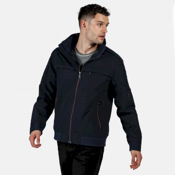 Regatta Men's Montel Waterproof Bomber Jacket - Navy