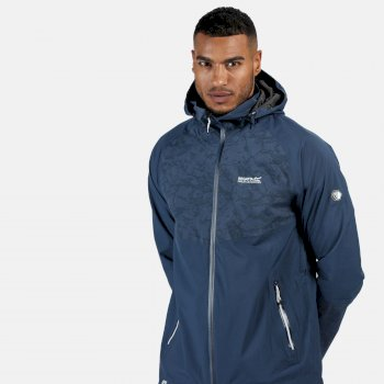 Regatta Men's Oklahoma V Reflective Waterproof Jacket - Dark Denim