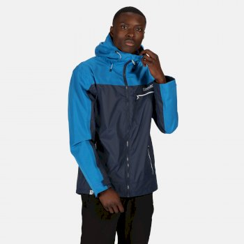 Regatta Men's Highton Stretch Waterproof Jacket - Nightfall Navy Imperial Blue