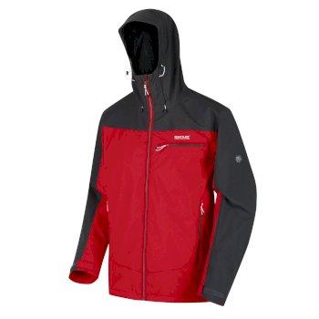 Highton wasserdichte Stretch-Jacke für Herren Rot