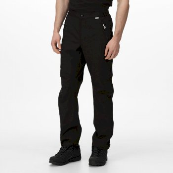 Regatta Men's Highton Stretch Waterproof Overtrousers - Black