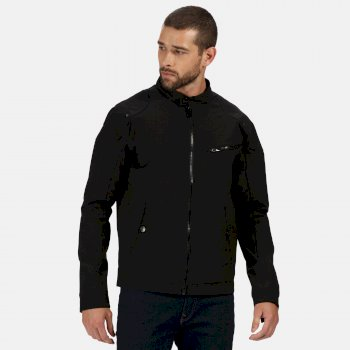 Regatta Men's Haakon Waterproof Shell Jacket - Black