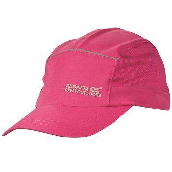 Extended Cap Sommer-Kappe rosa