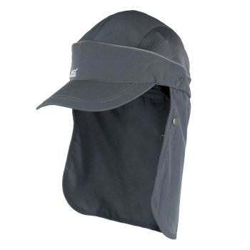 Regatta Men's Protector II Neck Protector Cap - Seal Grey