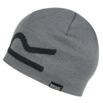 Regatta Brevis Acrylic Knit Beanie Rock Grey