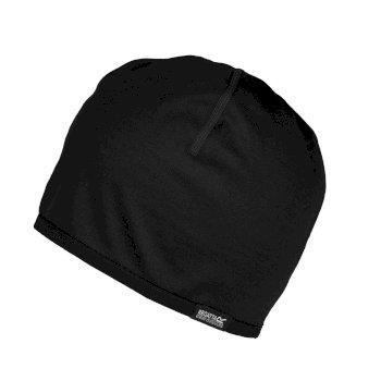 Superweiche Merino-Mütze für Erwachsene Schwarz