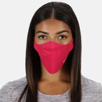 Stretch-Gesichtsmasken, 3er-Pack für Erwachsene Rosa