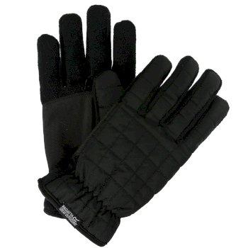 Handschuhe - gesteppt  Schwarz