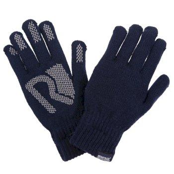 Brevis - Unisex Handschuhe - Acryl-Strick  Navy