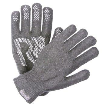 Regatta Brevis Acrylic Knit Gloves Rock Grey