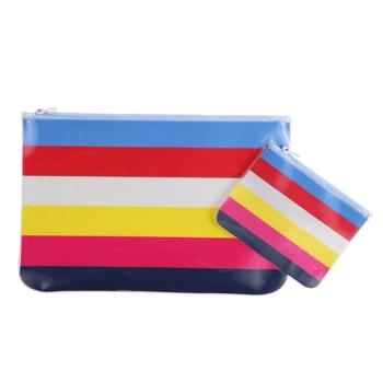Taschenset für nasse Schwimmsachen Mehrfarbig