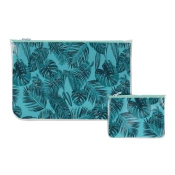 Taschenset für nasse Schwimmsachen Grün