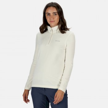 Regatta Women's Sweethart Lightweight Half-Zip Fleece - Polar Bear Parchment