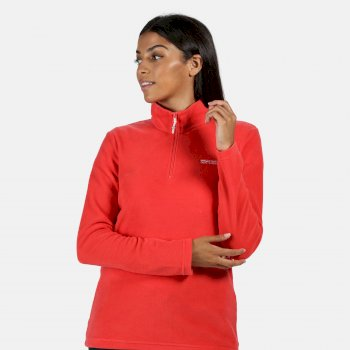 Regatta Women's Sweethart Lightweight Half-Zip Fleece - Red Sky