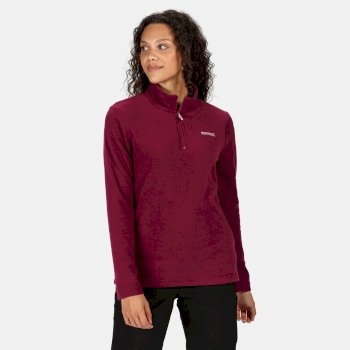 Regatta Women's Sweethart Lightweight Half-Zip Fleece - Purple Potion