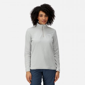 Regatta Women's Sweethart Lightweight Half-Zip Fleece Light Steel