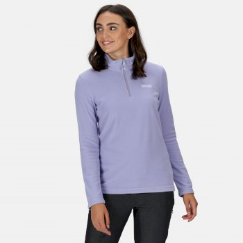 Regatta Women's Sweethart Lightweight Half-Zip Fleece - Lilac Bloom