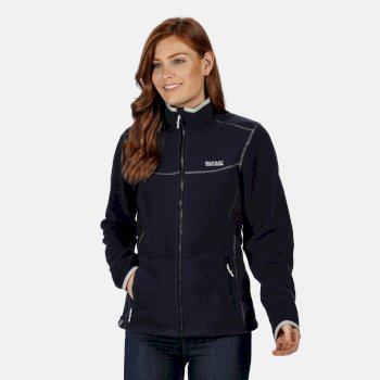 Regatta Women's Floreo II Mid Weight Full-Zip Fleece - Navy