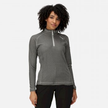 Regatta Women's Montes Lightweight Half-Zip Fleece - Dark Light Steel
