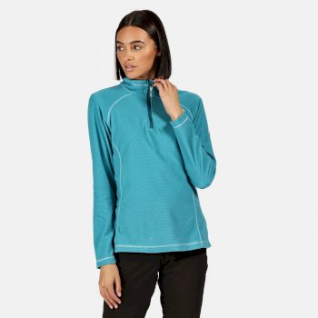 Regatta Women's Montes Lightweight Half-Zip Fleece - Ocean Depths