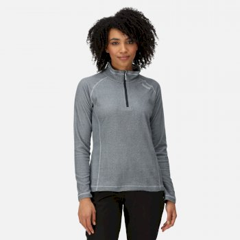Regatta Women's Montes Lightweight Half-Zip Fleece - Navy White