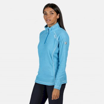Regatta Women's Montes Lightweight Half-Zip Fleece - Blue Aster