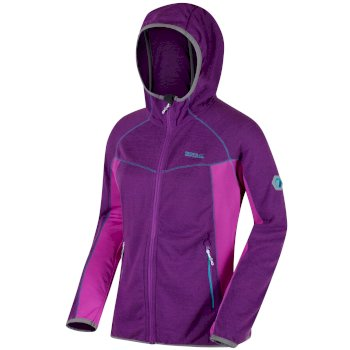 Regatta Willowbrook IV Knit Effect Fleece - Ultra Purple