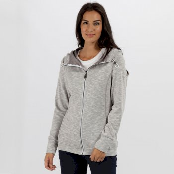 Regatta Ramosa Mid Weight Full Zip Fleece Rock Grey