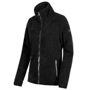 Halima Full Zip Fleece Black