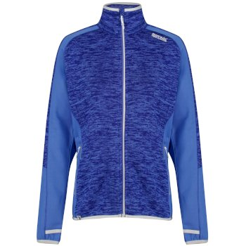 Laney V Fleece-Sweatshirt mit Strickeffekt für Damen Blueberry Pie