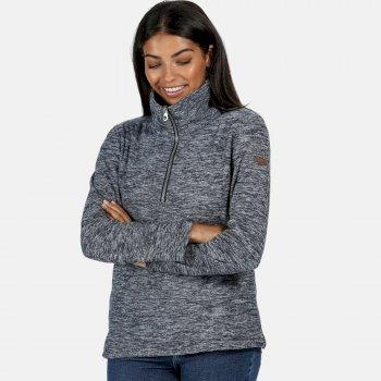 Women's Fidelia Lightweight Half-Zip Fleece Blau