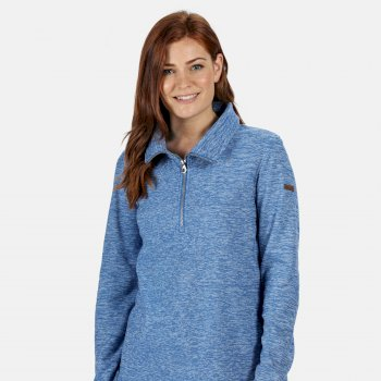Regatta Women's Fidelia Lightweight Half-Zip Fleece - Strong Blue