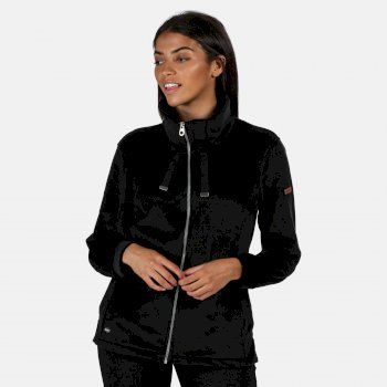 Regatta Women's Odelia Full Zip Heavyweight Fleece - Black