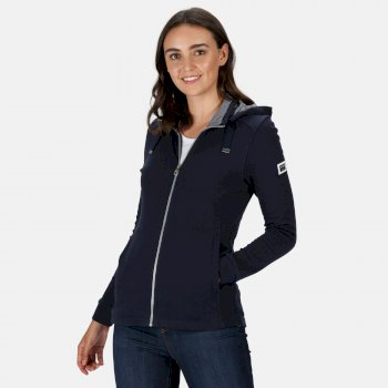 Regatta Women's Ramana Full Zip Hooded Fleece - Navy