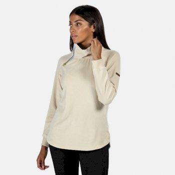 Cliona Velour-Sweatshirt für Damen Braun